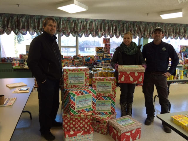 Dufferin Wind Power Christmas Donation Details